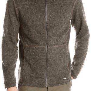 ExOfficio Hoody Kahve Thermal Hoodie Wool Sweater